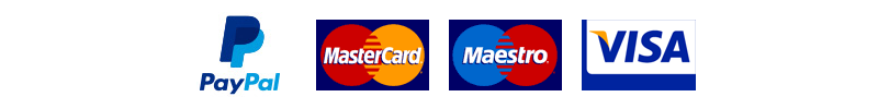 Accepted payment providers: Paypal, Discover, Diners Club International, MasterCard, VISA